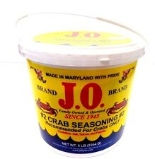 J.O. Spices Maryland Co.#2 CRAB Seasoning for Crabs & All Seafood 5 Lb Bucket