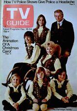 TV Guide 1971 The Partridge Family David Cassidy Susan Dey Shirley Jones VG COA