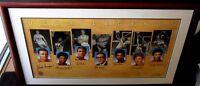 UCLA Legends signed lithograph framed Kareem Abdul Jabbar Walton Wooden 632/2500