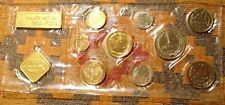 10 RUSSIA OLYMPIC 1980 MINT COIN SETS USSR SOVIET UNC RUSSIAN TOKEN & NINE COINS