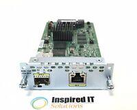 NIM-1GE-CU-SFP - Cisco 1-port GE/SFP for ISR 4000 and 4300 Series *Same Day Ship