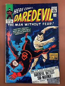 Daredevil #7 Marvel Comics 1st DD in Red Silver Age
