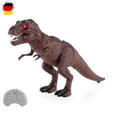RC Elektronischer Tyrannosaurus T-Rex Dinosaurier für Kinder, Dino Figur, Neu
