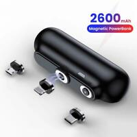 Mini Power Bank Portable Battery Charger For Cell Phone With Wireless Charging