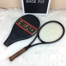 Amf Head Graphite Edge Vintage Tennis Racquet With Original Cover 4 5/8 L