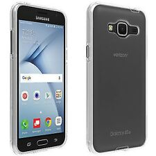 Verizon Shell Case for Samsung Galaxy J3 V - Clear- 2 FOR $7.99