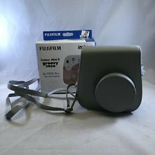 FUJI Instax Mini 9 Camera Case Groovy Case Smokey White Gray