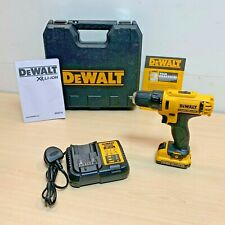 DeWalt DCD710N 10.8v XR Drill Driver + 1 x 2.0Ah DCB127 Battery + Charger + CASE