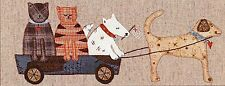 A DOG'S LIFE BLOCK 2 OF 4 QUILTING PATTERN, Lynette Anderson Designs NEW