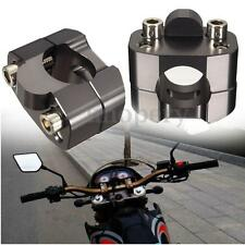 28MM 1 1/8 in Handle Bar Protaper Fat Bar Risers Mount Clamp Dirt Bike ATV Quad