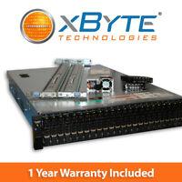 Dell PowerEdge R720xd Server 2x E5-2670 2.6GHz 8C 256GB 24 SFF H710 Enterprise