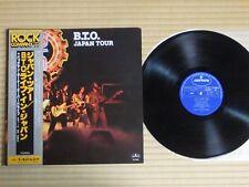 Bachman-Turner Overdrive – Japan Tour RJ-7200 Japan Insert Obi Near Mint