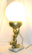 Art Deco Egyptian Revival Figurine Lamp - 1920's
