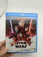 Star Wars: The Last Jedi (Bluray/DVD, 2017)