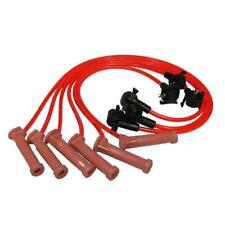 Taylor Spark Plug Wire Set 72332; Spiro Pro 8mm Hot Orange for Ford 4.0L V6