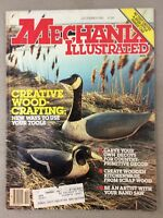 Mechanix Illustrated Magazine December 1983 Wood Crafting