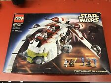 LEGO Star Wars - Republic Gunship Set (7163) Attack of the Clones