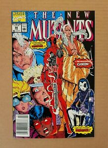 New Mutants #98 (1991) ~ Signed by Rob Liefeld!! HI-GRADE NM (9.4++) ~ Marvel