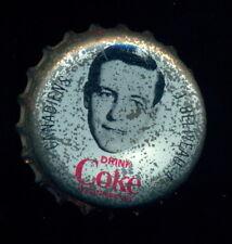 1964 65 COCA-COLA COKE BOTTLE CAP With CORK JEAN BELIVEAU MONTREAL CANADIENS