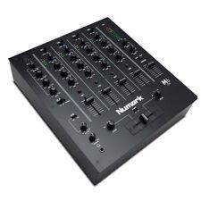Numark M6 USB 4-channel DJ Scratch Mixer Crossfader EQ Mic Inputs PC Mac Black