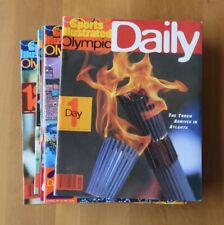 Sports Illustrated Olympic Daily 1996 Atlanta Olympics, Complete Set 1-18 MINT