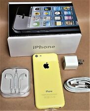 Apple iPhone 5C Yellow 16GB 4G (Unlocked) AT&T Smartphone GSM