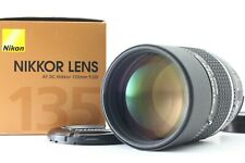 【Top MINT in BOX】 Nikon AF DC Nikkor 135mm F2 D Lens From JAPAN Fedex #276