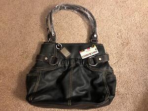 TIGNANELLO Touchables Soft Black Leather Purse
