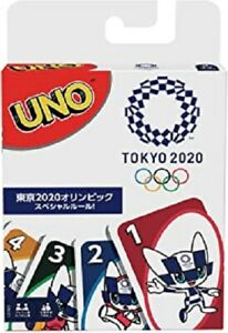 UNO Tokyo 2020 Olympic Games Edition Card Game **NEW**