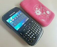 Samsung Chat 335 Ch@t GT-S3350 Mobile Phone - Vodafone SIM Only