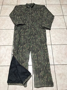Winchester Insulated Camouflage Hunting Quilted Coveralls Size XL Mens