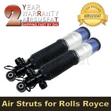 Pair For Rolls Royce Ghost Rear R+L Air Suspension Shock 37126795874 37126851605