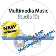 Multimedia Studio Kit Software - Professional Music & Audio Tools For All Files
