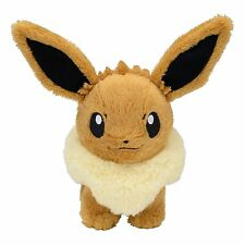 Pokemon Center Original Plush Doll Standing Eevee Eievui Japan