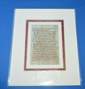 Beautiful!!  16th Century Book of Hours - Cistercian Nuns