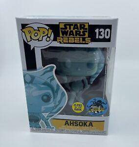 Funko POP! Star Wars Rebels Ahsoka #130 Glow in The Dark LA Comic Con MINT
