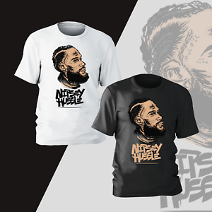 Nipsey Hussle Rapper T-Shirt Mens Unisex Rap Hip Hop Rap Music Gift Present Tee