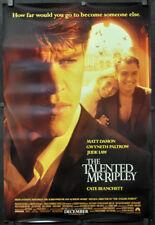 Talented Mr. Ripley 1999 Orig 27X40 Movie Poster Matt Damon Gwynth Paltrow