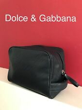 💙💙💙D G Dolce Gabbana Mens Toiletry Washbag Travel Bag Navy New! 3f105e4d5d971