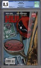 Hulk #14 McGuinness Deadpool Variant Cover CGC 8.5 (W)