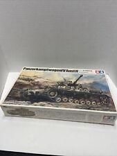 Tamiya Panzer Kampfwagen IV 4 Ausf. H German Tank WW2 1/35 Model Kit Mt245 Rare