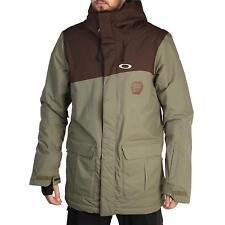 NEW Oakley JEDA Snow JACKET Men's Size M Worn Olive Waterproof $280