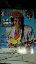 Guitar Player magazine June 1988 FRANK GAMBALE ted nugent midi free usa shipping