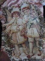 Christbaumschmuck Weihnachtsschmuck Jugendstil Nikolaus Stiefel Nostalgie Engel