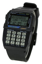 50 memory data bank calculator watch