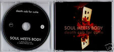 DEATH CAB FOR CUTIE Soul Meets Body 2005 UK 2-track promo CD