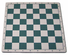 """20"""" Soft MousePad Rubber Chess Board - Green/White  NEW"""