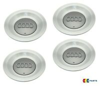 "NEW GENUINE AUDI A4 B6 17"" ALLOY WHEEL CENTRE CAP HUB 4 PCS SET 8E0601165A7ZJ"