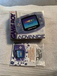Nintendo Game Boy Advance Glacier BOX ONLY