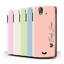 Personalized Custom Pastel Tones Phone Case for Sony Xperia Ray/ST18i/Cover